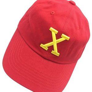 Malcom X trendy RED 1  #dadcap  hat *NWT*